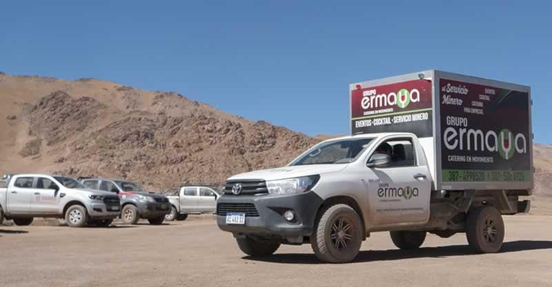 Ermaya • Servicios de Catering | División minería, petróleo y construcción